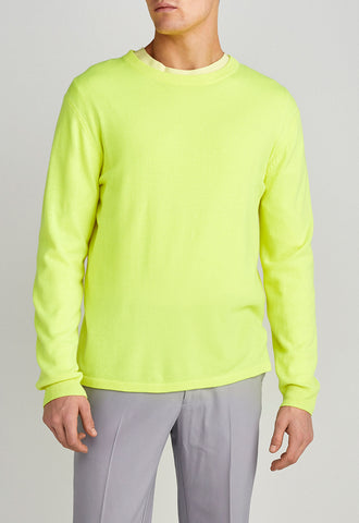 JAC + JACK Emit Sweater fluro yellow