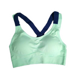 Strappy Push-Up Sports Bra for Women