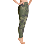 High Waisted Camo Leggings with Side Pocket