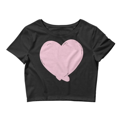 Heart Women's Crop Top