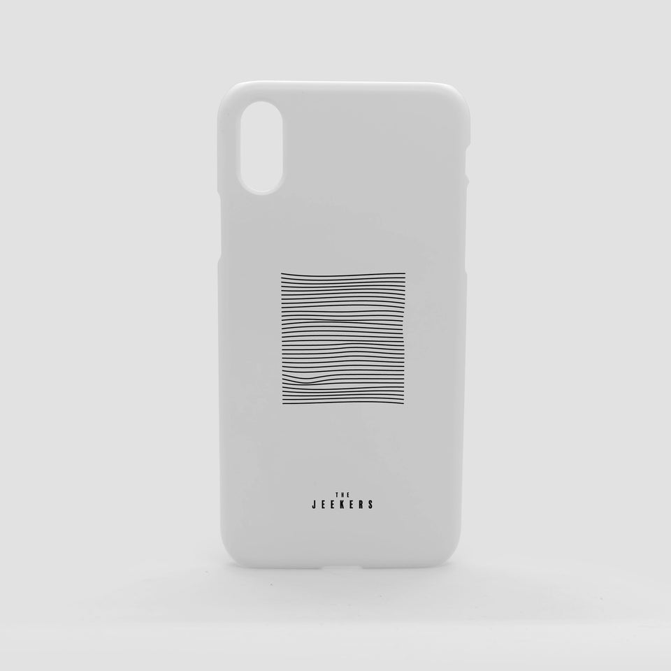 Iphone X whitedivision minimaliste Jeekers