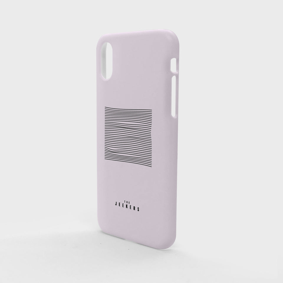 Iphone X pinkdivision minimaliste Jeekers