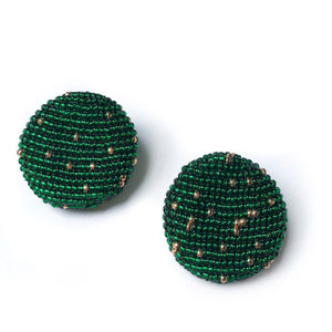 POLKAMOR EARRINGS Green