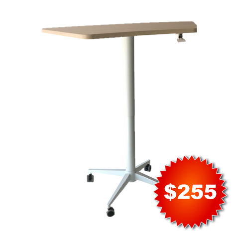 Keen Air Height Adjustable Pillar Table (Special Offer)