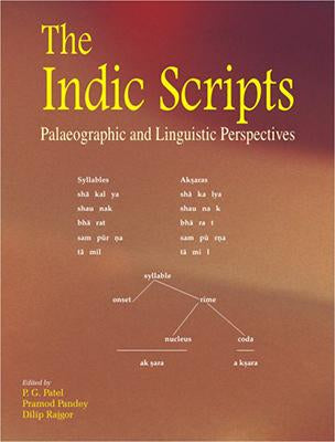 Indic Scripts — Palaeographic and Linguistic Perspectives