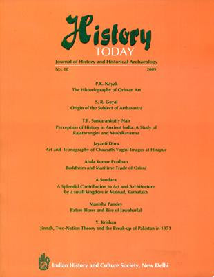 History Today (Vol. 10: 2009) — Journal of the Indian History and Culture Society