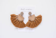 Penny Earrings - Wood x Clay Earrings