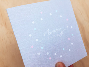 Greeting Card - Baby Shower
