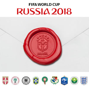 2018 FIFA World Cup Team Logo Wax Seal Stamp