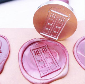 Doctor Who TARDIS Wax Seal Stamp