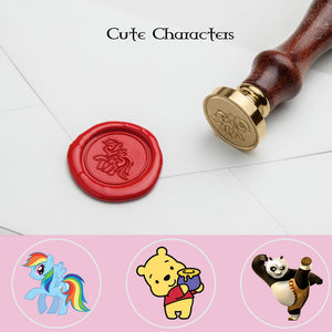 Cute Animal Wax Seal Stamp
