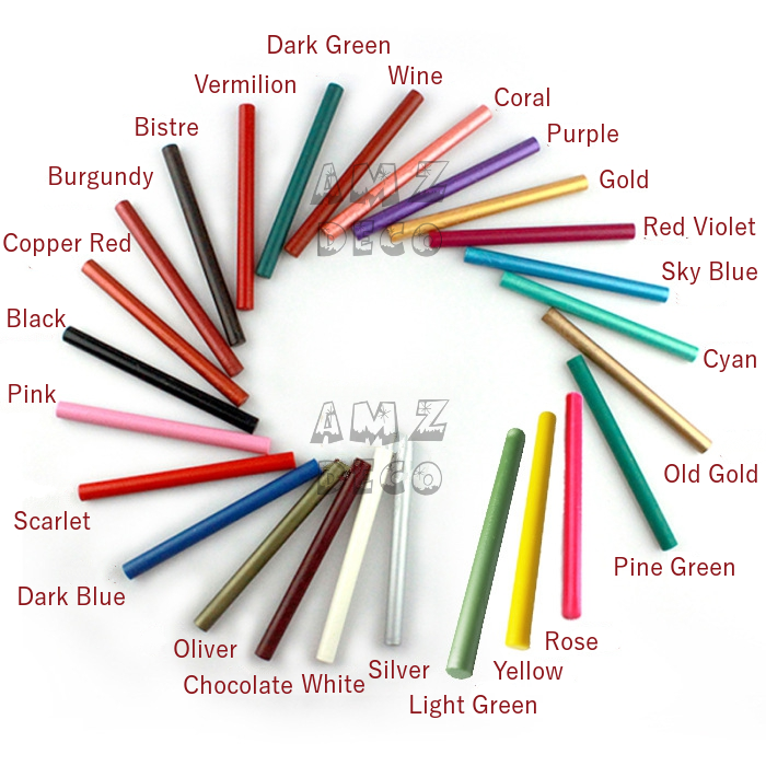 25 Color Glue Gun Sealing Wax Sticks