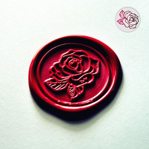 Rose Flower Wax Seal Stamp for Wedding and Gift