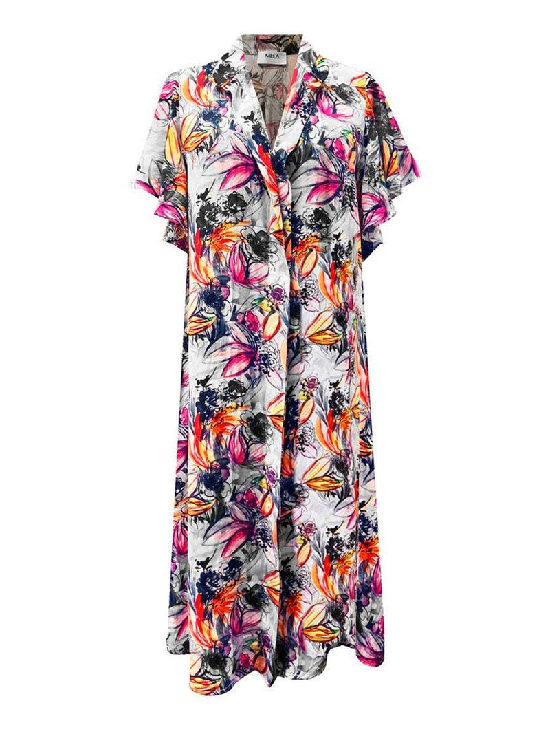 MELA PURDIE GARDEN WATERCOLOUR DRESS-Dresses-MELA PURDIE-ENNI