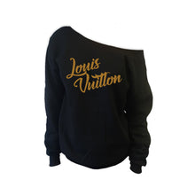 Love LV Off Shoulder Sweatshirt (Various Colors)