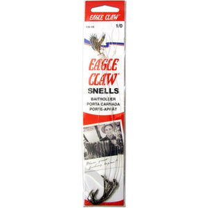 Eagle Claw Snelled Hook Bronze Baitholder 12 Per Carton