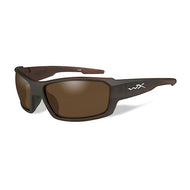 Wiley X Polarized Sunglasses - Rebel Bronze Lens / Matte Layered Tortoise