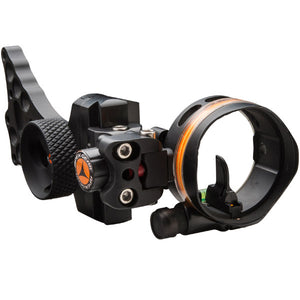 Apex Bow Sight Covert 1 1-Pin Black With Light