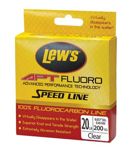 Lews APT Speed Fluorocarbon Nature Clear 10Lb 200 Yards