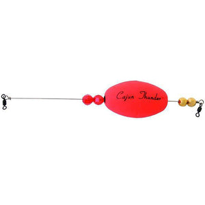 "Cajun Thunder Weighted Float 2.5"" - Oval"