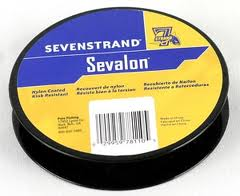 SevenstranSevenstrand Sevalon Wire Non-Coated 27# 30' Stainless Steel Leader With Nylon Coveringd Sevalon Wire Non-Coated