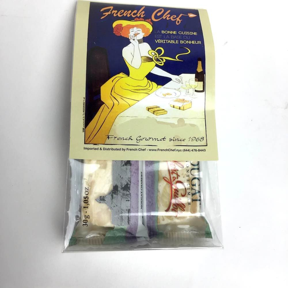 Les Anis de Flavigny Lemon Drops Bag - French Hard Candy - 8.8oz Case of 10 Units - Wholesale