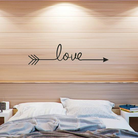 Love Arrow Wall Sticker