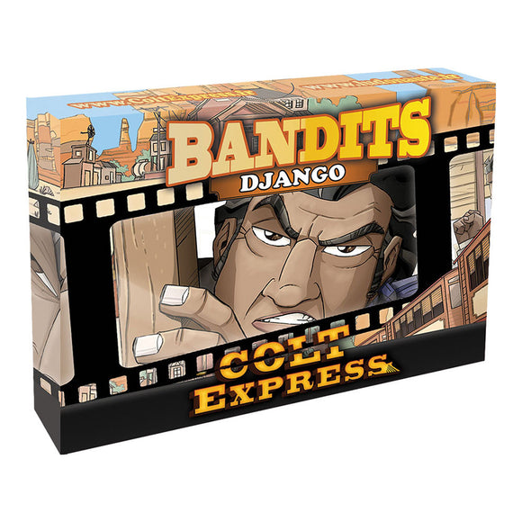 Colt Express: Bandit Pack - Django Expansion - Front