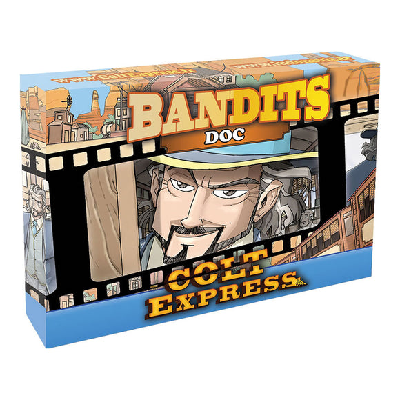 Colt Express: Bandit Pack - Doc Expansion - Front
