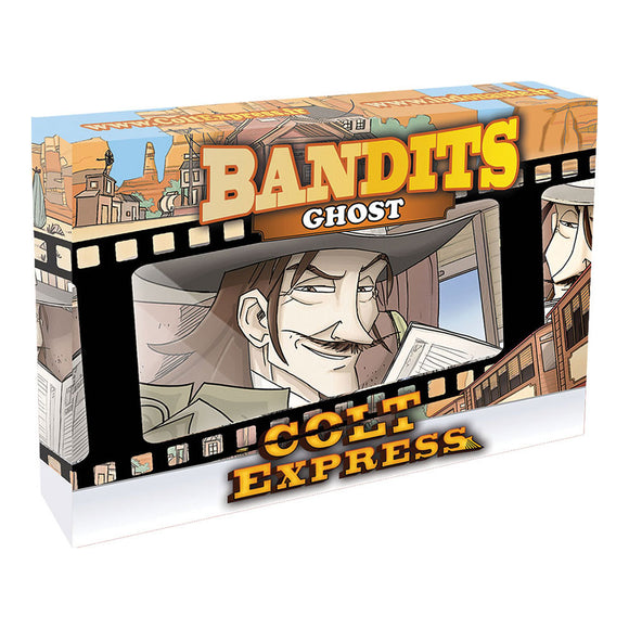 Colt Express: Bandit Pack - Ghost Expansion - Front