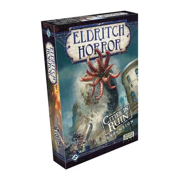 Eldritch Horror: Cities in Ruin Expansion - Front