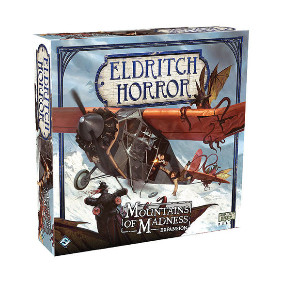 Eldritch Horror: Mountains of Madness Expansion - Front