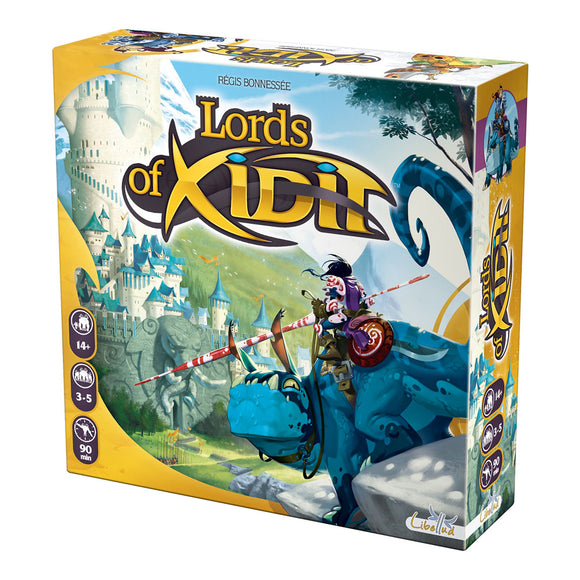 Lords of Xidit - Front