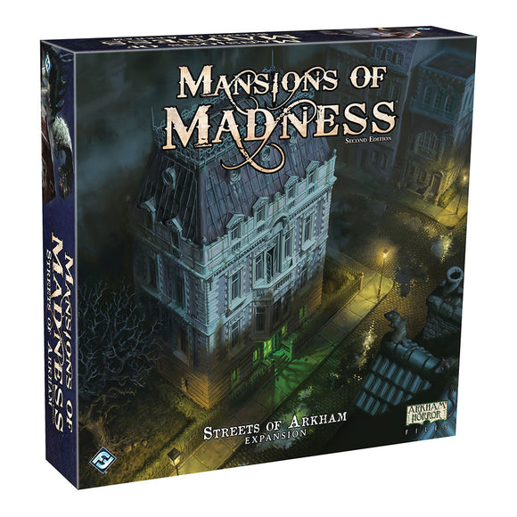 Mansions of Madness: Second Edition - Streets of Arkham Expansion - Front