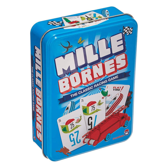 Mille Bornes: The Classic Racing Game - Front
