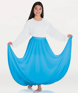 Child Praise Dance Circle Skirt
