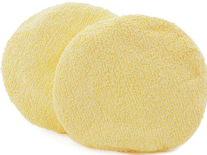 "Pack of 2 HoneyBelle® bodybuffer 6"" replacement bonnets/optional pad liners (Not For babyBelle®)"