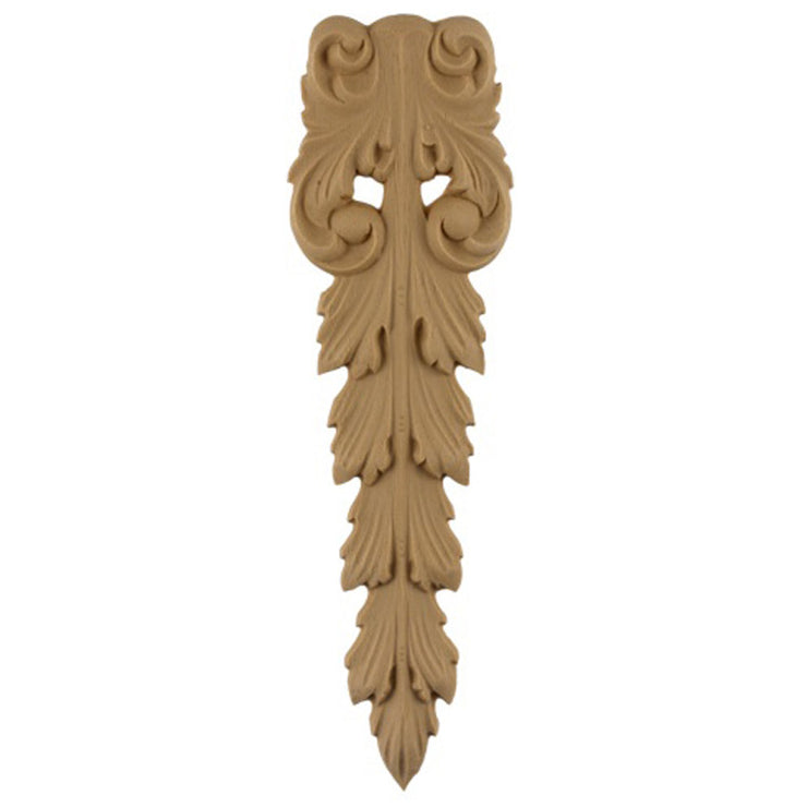 "Brockwell's 2-1/4""(W) x 7-1/2""(H) - Deco Accent - Acanthus Leaf Design - [Compo Material]- - ColumnsDirect.com"