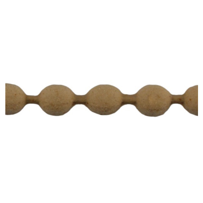 "Brockwell Incorporated's 11/32""(H) x 7/32""(Relief) - Interior Renaissance Bead Linear Molding Style - [Compo Material]"