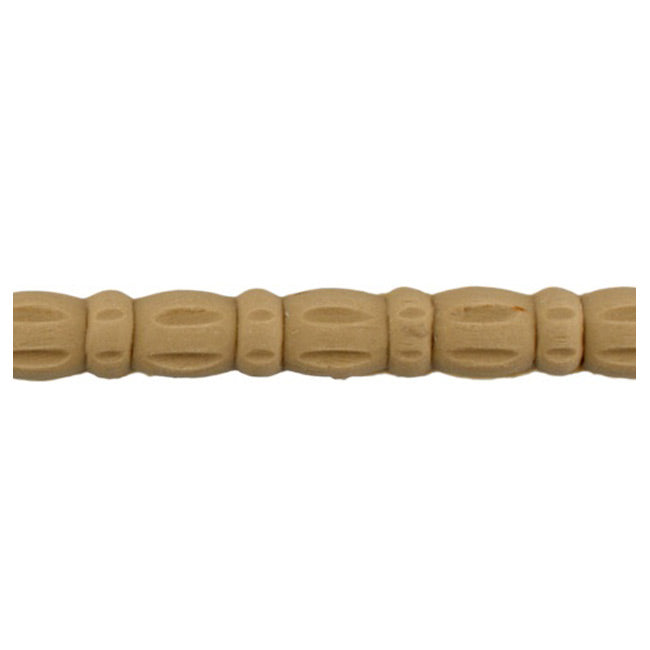 "Brockwell Incorporated's 1/2""(H) x 1/4""(Relief) - Decorative Stain-Grade Linear Bead Molding Style - [Compo Material]"