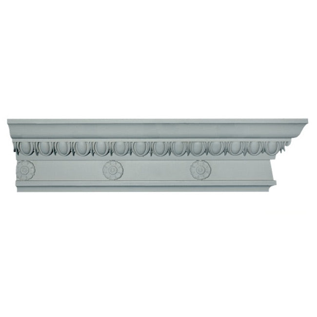 "5""(H) x 2-1/2""(Proj.) - Italian Renaissance Crown Molding Design - [Plaster Material] - Brockwell Incorporated"