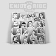 FADEAWAY FRIENDS 3xLP Charity Compilation (ETR040)