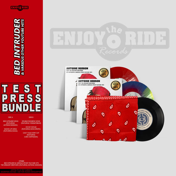 Bed Intruder Test Press Bundle