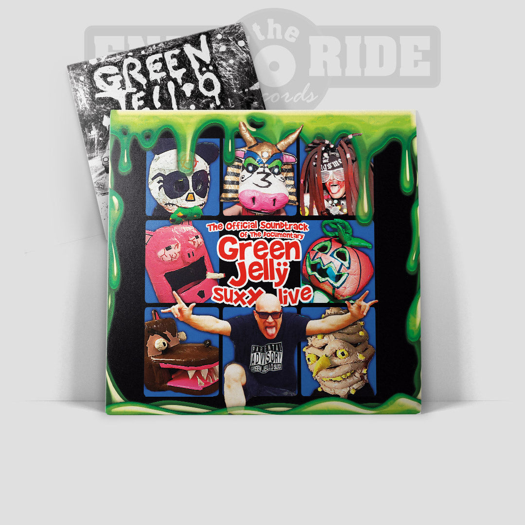 The Official Soundtrack Of The Documentary Green Jellÿ Suxx Livë : The Guiness World Book Record holding Grammy Award Nominated Multi Million Selling Godfathers Of Punk Rock Puppet Band (ETR075)