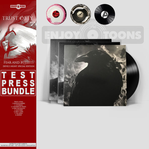 The Crow (Fear And Bullets) Test Press Bundle