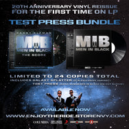 M.I.B: The Score Test Press Bundle