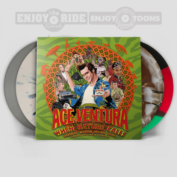 ACE VENTURA: WHEN NATURE CALLS Soundtrack (ETT014/ETR070)