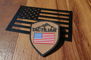 Tactilian PVC Velcro Patch