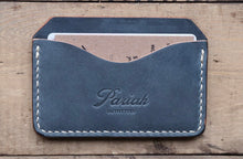 Horizontal Card Case | Blue