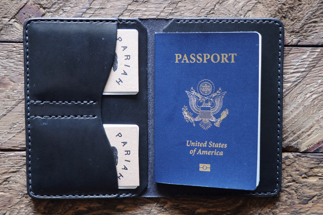 Passport / Field Notes Wallet | Black